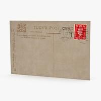 postcard 02 3d max