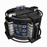 - sci-fi city building 3d max