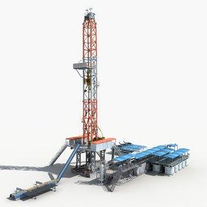 land rig 3d model
