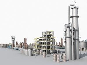 3d plant factory model
