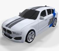 3d model sport car -