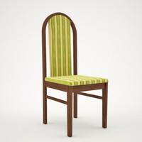 3d model banquet chair 7