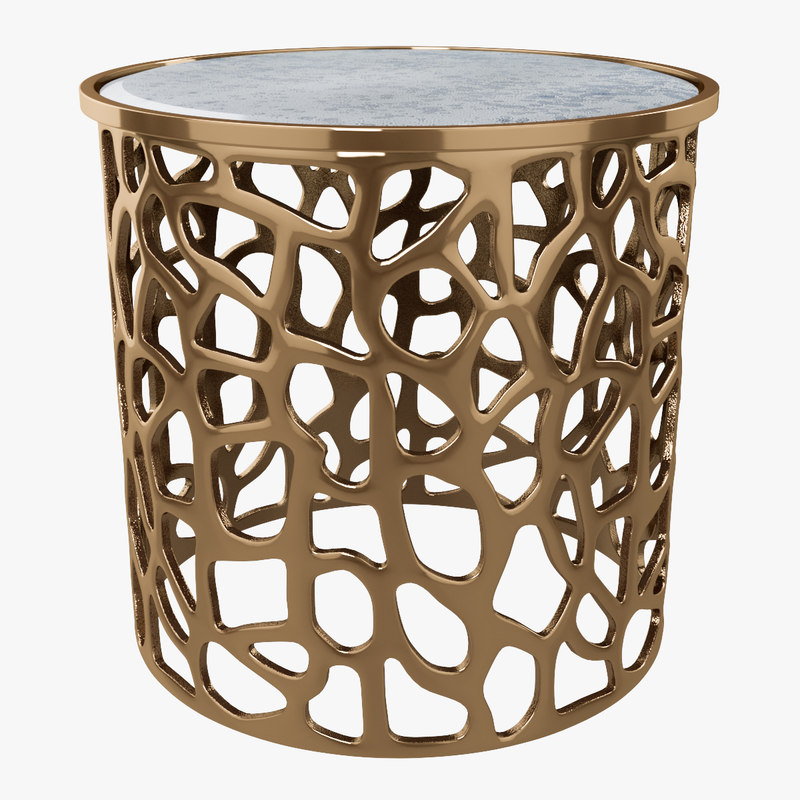 imogen copper drum 3d model