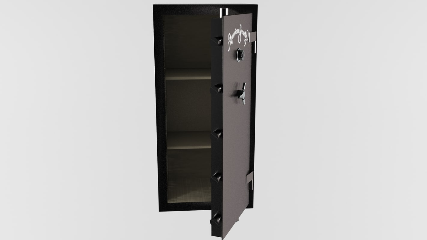 3d american security safe