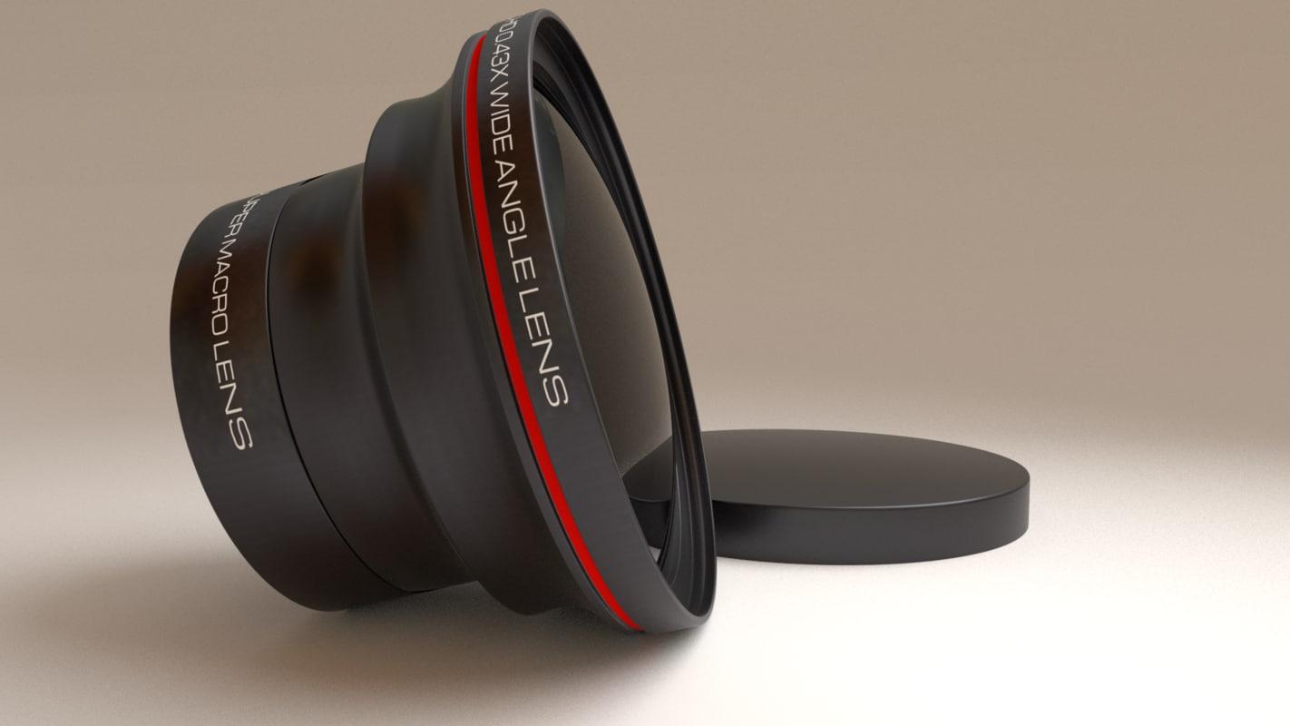3d macro camera lens