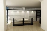 3d model cosmetics store shop