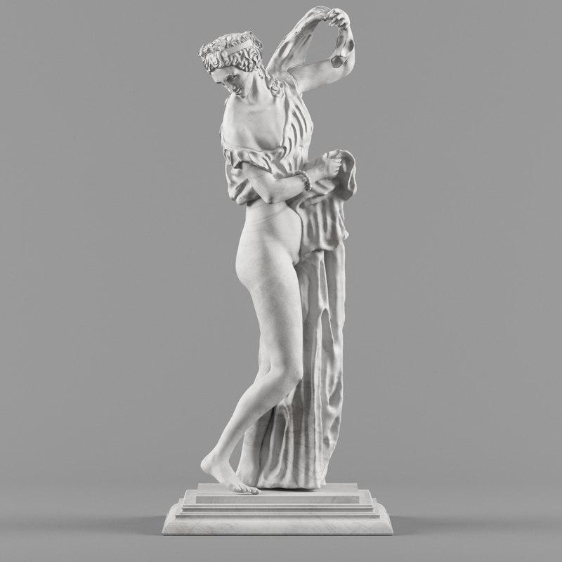 max statue aphrodite kallipygos