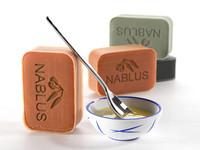 natural olive soap 3d max