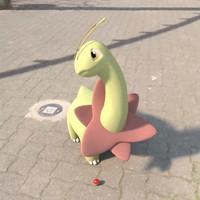 3d model pokemon meganium