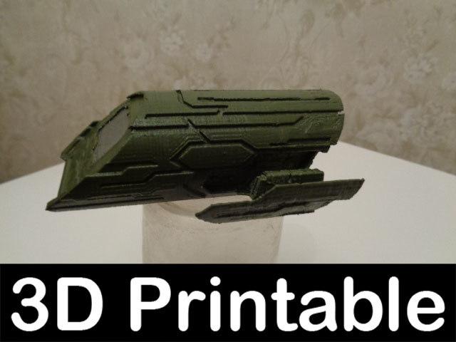maya 3d-printable kit puddle jumper