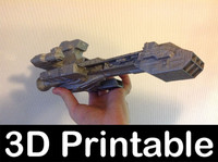 3d-printable kit stargate sg1 3d model
