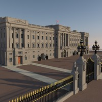 3d royal buckingham palace