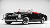 fbx mercedes-benz 190sl 1960 s