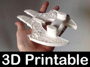 3d model of printable kit stargate daniel