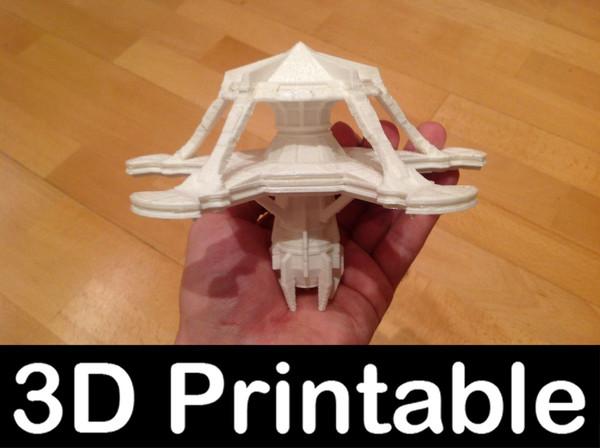 printable kit goauld hassara 3d model