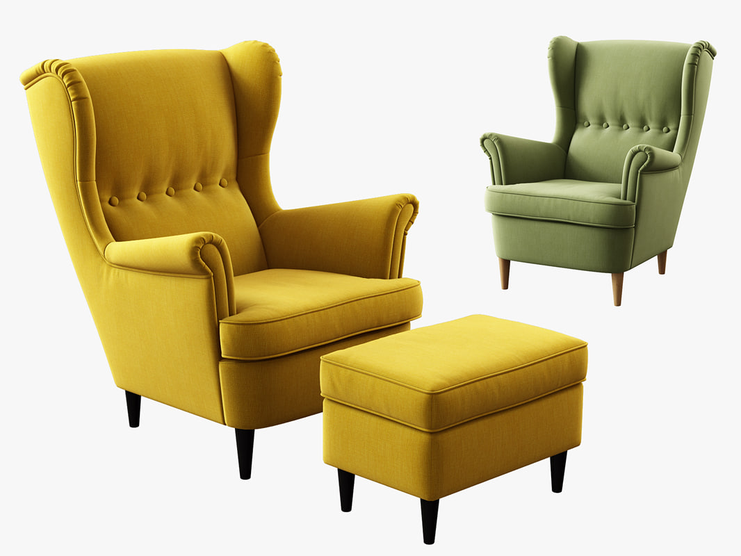 : strandmon wing chair - Cheerinfomania.Com