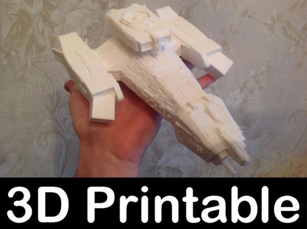 printable kit - nostromo alien 3ds