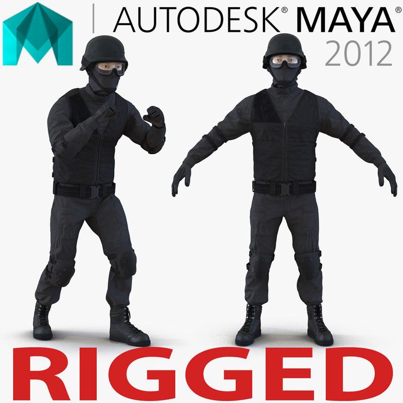 ma swat man rigged 2