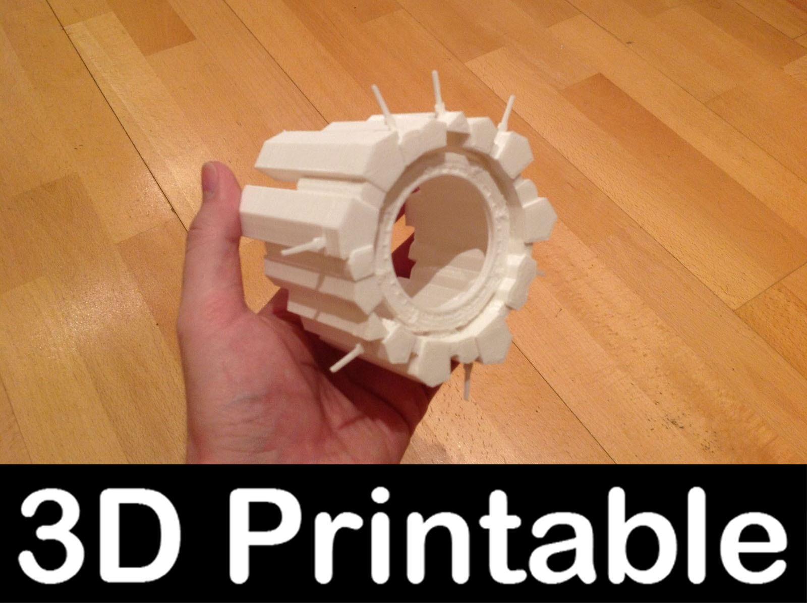 printable kit asuran satellite 3d model