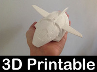 3d 3ds printable serenity shuttle firefly