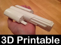 3d model printable - vanir spaceship