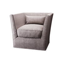 photoreal meridiani queen armchair 3d max