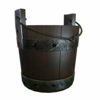 3d medieval bucket