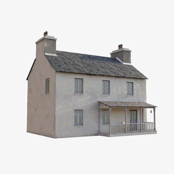 3d irish house games model