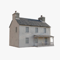 3d irish house games model