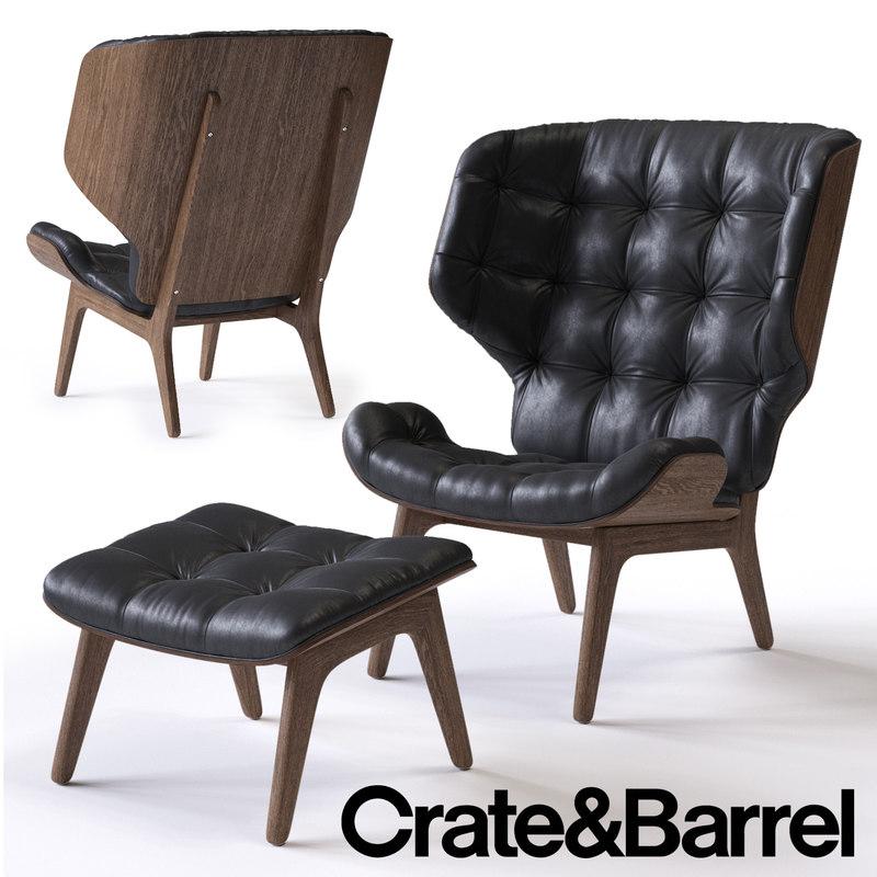 3d mammoth armchair model