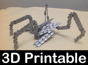 3d replicator bug stargate sg1 model