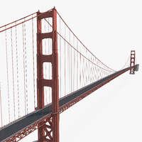 golden gate bridge 3ds