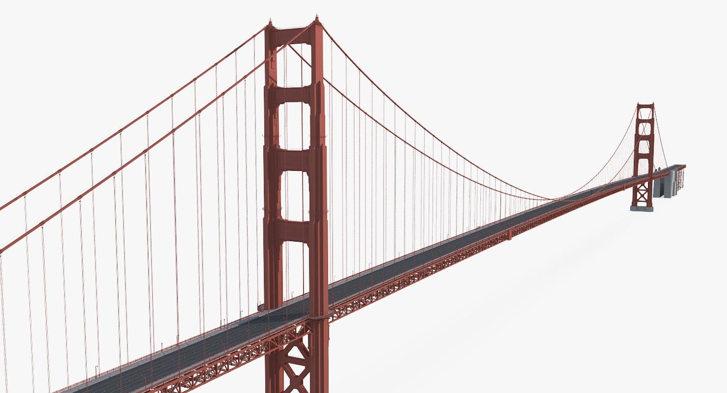 golden gate bridge 3ds