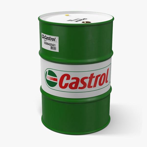 c4d steel barrel drum oil