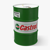Steel Barrel Drum Oil Castrol