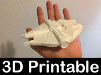 3d model printable kit yt1000 corellian