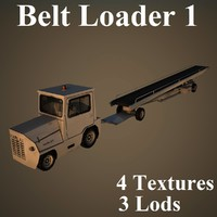3d belt loader harlan model