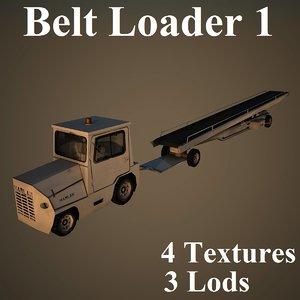 3d belt loader harlan model