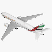 boeing 777 200er emirates 3ds