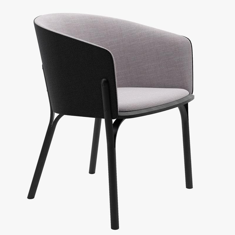 split armchair ton max