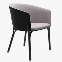 Ton Split armchair