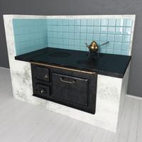 scandinavian stove