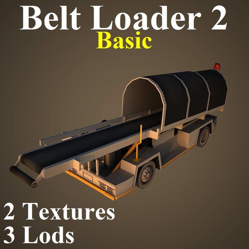 belt basic 3d model