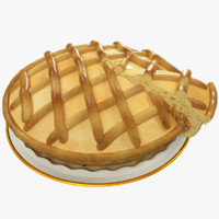 pie pieces 3d 3ds