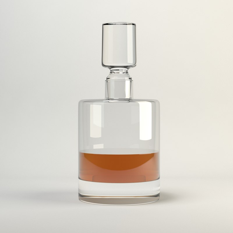 lsa boris decanter 3d model