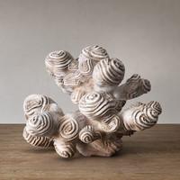 author sculpture coral 3d max