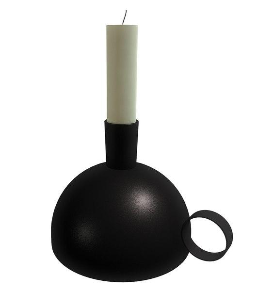 3d model of candle holder sallskap