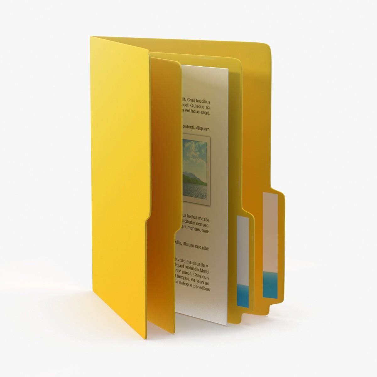 computer folder icon 3d max