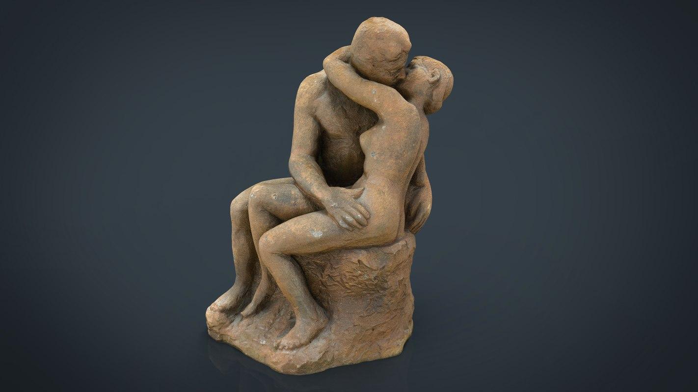 lovers figure 3d model