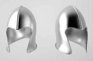 3d model helmet helm medieval